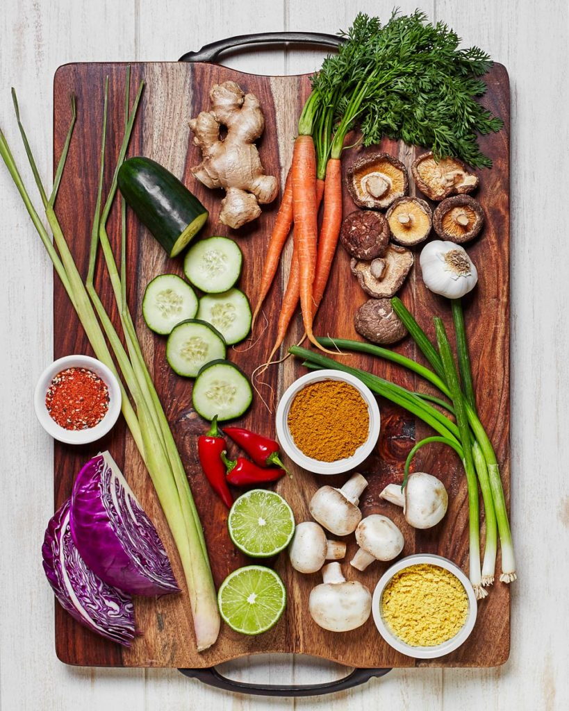 Food-Styling-By-Meghan-Erwin---Editorial---Ingredients-Cutting-Board